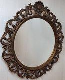 Franse spiegel rond