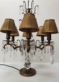 girandole Eichholtz 6 lamps brons met klemkapjes