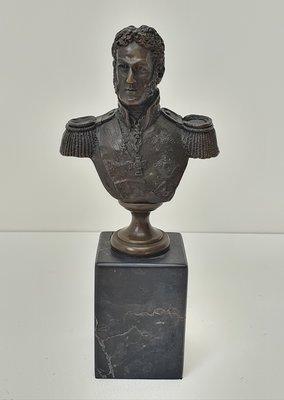 Brons bustebeeld Generaal