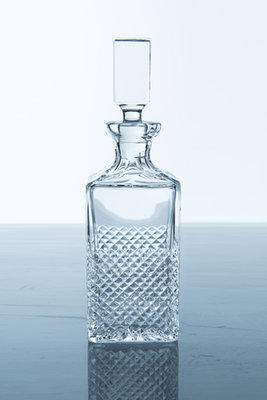 Whiskey karaf kristal vierkant maat 0.75 l cut Dolce