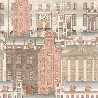 Amsterdam in pastelkleuren