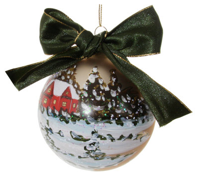 kerstbal van glas Ø 10 cm