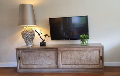 TV meubel met schuifdeuren maatwerk