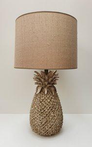 exclusieve keramische lampenvoet ananas Lumière verlichting met bijpassende handgemaakte kap 2