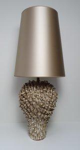 exclusieve keramische lampenvoet koraal vaas model Lumière verlichting met bijpassende handgemaakte kap