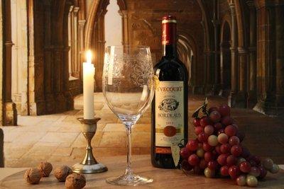 Set rode wijn glazen 6 stuks