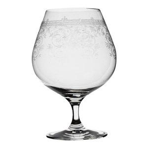 Set van 6 glazen cognac of bier